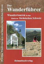 Wanderführer hintere Sächsische Böhmische Schweiz Elbsandsteingebirge Sachsen