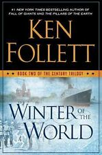 2 The Century Trilogy: Winter of the World Edge of Eternity Ken Follett FIRST ED