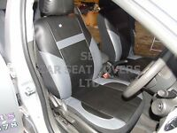 i - TO FIT A TOYOTA C-HR CAR, SEAT COVERS, LEATHERETTE, BLACK / grey 59.99