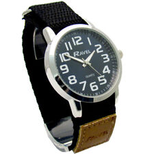 Ravel Gents Easy-Read Watch Large Numbers Blue Face Sports Strap 1601.64.6