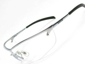 Bolle 40073 Silver Metal Silium Clear Anti-Scratch Anti-Fog Lens Safety Glasses