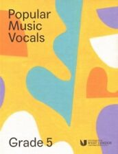 Popular Music Vocals Grade 5 London College of Music Singing Book & Online