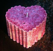 100hr SEX ON THE BEACH pineapple, peach, cranberry HUGE HEART Candle LOVERS GIFT