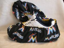 Marlins. MLB Men's size 10-12. Cotton, lined with vinyl soles.