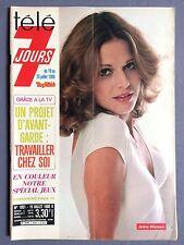 ►TELE 7 JOURS 1051/1980 - JEANE MANSON - DALIDA - MADELAINE RENAUD