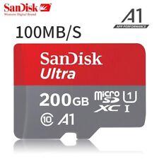 SanDisk 200GB microSDXC Ultra 100MB/s A1 C10 U1 SD 200G microSD micro SD SDXC
