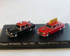 Peugeot 404 Set, NOREV, 1:87