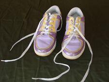 playboy sneakers purple/yellow/white size 9.5