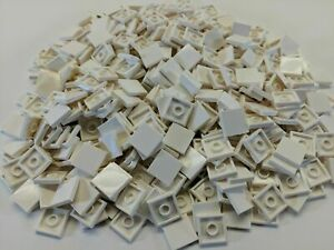 x500 NEW Lego Tiles White Smooth Finishing Tile 2x2 2 x 2 MODULAR BUILDINGS