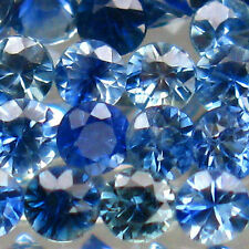Very Good Cut Round Loose Natural Sapphires