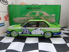 Minichamps BMW M3 E30 1:18 Diecast REPLICA TEAM ALPINA 1 di 762 LIMITED ED NUOVO!