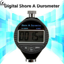 Digital Shore A Durometer Tire Tyre Rubber Hardness Tester LCD Display Shore A
