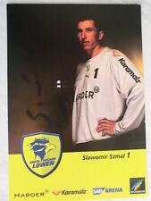 Slawomir Szmal, Rhein-Neckar-Löwen, Handball, original Autogramm