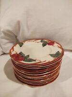 Set 12 Franciscan Apple Bread Plates
