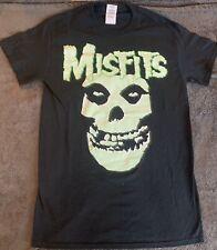 MISFITS Band Graphic T-Shirt Band Tee GREEN/BLACK SMALL