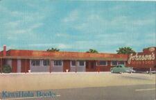 Postcard Johnson's Restaurant Dunn NC