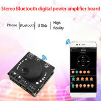 HIFI 50W+50W TPA3116D2 Stereo Bluetooth Digital Amplifier Board AUX USB-C Infff