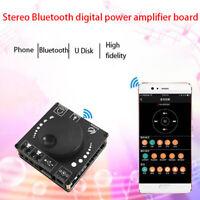 HIFI 50W+50W TPA3116D2 Stereo Bluetooth Digital Amplifier Board AUX USB-C In U_X