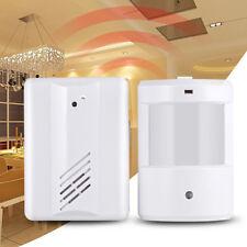 Wireless PIR Sensor Store Door Bell Entry Alert Chime Shop Welcome Gate Doorbell