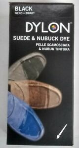 Dylon Suede & Nubuck Shoe Dye With Applicator  BLACK