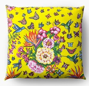 Pillowcase For Cushion Decorative Heaven Butterfly Handmade Design Exclusive