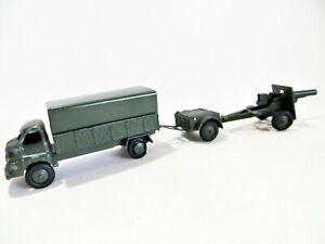 KEMLOW/AUTOMEC ARMY ARTILLERY SET 'BEDFORD S LORRY, LIMBER & FIELD GUN. RARE
