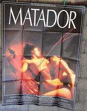 Original movie poster cinema-Affiche originale-Matador Almodovar 120*160