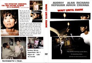 WAIT UNTIL DARK (1967) Audrey Hepburn Richard Crenna