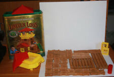 Frontier Junction Lincoln Logs 94 Pieces Real Wood Building Block Toy