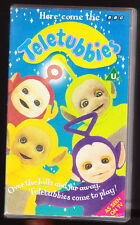 TELETUBBIES - HERE COME THE TELETUBBIES - BBC - VHS PAL (UK) VIDEO