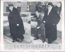 1954 Russian Ambassador Georgi Zarubin at US State Department Press Photo