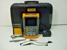 Fluke 199C Handheld Digital Color Scopemeter 200MHz 2.5GS/s - New Battery