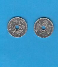 Troisième République 25 Centimes Nickel 1914 Essai de Becker Petit Module
