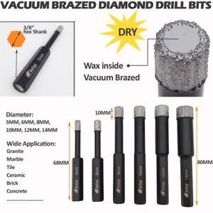 X2 WET DIAMOND TILE DRILL BIT FOR PORCELAIN  GLASS, CERAMICS, MARBLE, GRANITE