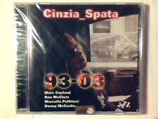 CINZIA SPATA 93-03 cd COLE PORTER VINICIUS DE MORAES SIGILLATO SEALED!!!