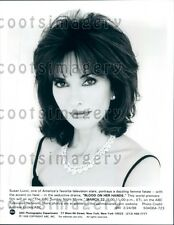 1998 Beautiful Actress Susan Lucci TV Movie Blood on Her Hands Press Photo