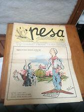 Pesa Publicar 1952 rivista estudiante d'época PADOVA storia local RARA