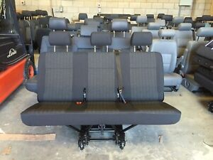 Vw Transporter T5 Or T6 New Rear Triple Kombi Seat In Pandu Trim