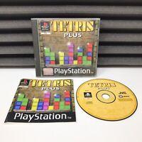 Tetris Plus - PS1 Sony Playstation 1 - PAL Complete *Black Label*