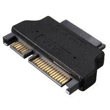 Micro Slim SATA 7+15 22pin male vers femelle SATA 7+6 broches 13 pole adaptateur