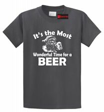 Funny Christmas Shirt It's The Most Wonderful Time For Beer Funny Xmas Party Tee