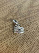 Genuine Sterling Silver Pandora Charm, Rome Colesseum, With Box