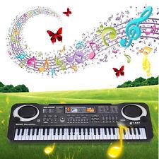 61 Keys Digital Music Electronic Keyboard Key Board Gift Electric Piano UK