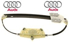 Audi A6 Quattro Rear Driver Left Window Regulator without Motor Electric Genuine