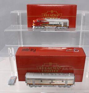 Broadway Limited 402 ATSF F7 AB Diesel Unit Set w/DCC EX/Box