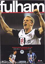 2009/10 FULHAM V WIGAN ATHLETIC 04-04-2010 Premier League (Excellent)