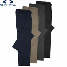 Polyester Dress-Pleat Pants for Men