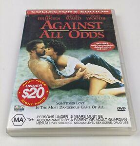 Against All Odds - Genuine Region 4 DVD 1984 Jeff Bridges Rachel Ward