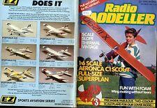RADIO MODELLER MAGAZINE 1988 DEC J.J. RUTTERS WHITE HOT FREE PLANS, NIBBIO