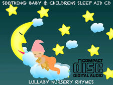 Children's Songs & Nursery Rhymes CD soothing baby sleep aid relax peaceful 129